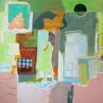Giallo Negative 2011 Acrylic on Canvas 120 x 160 cm